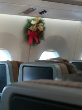 Julfint på flyget